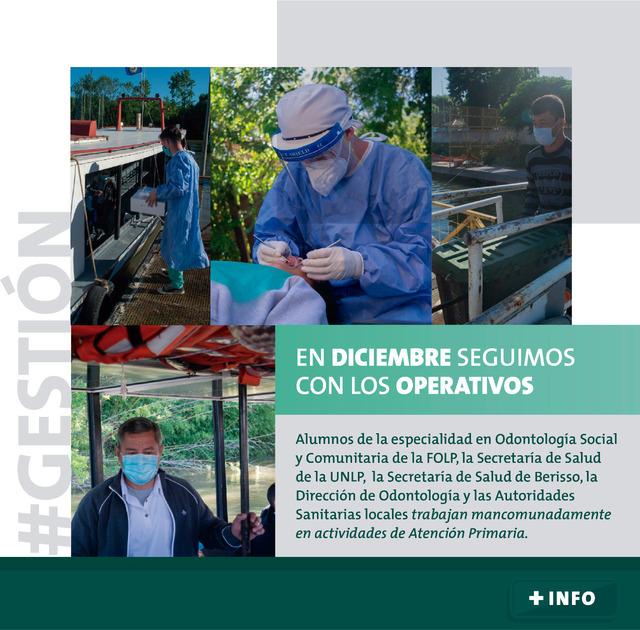 Acciones Solidarias en los Barrios más populares FOLP-UNLP